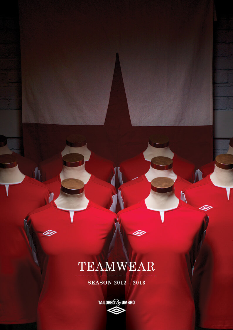 2012-13 Umbro Teamwear Brochure