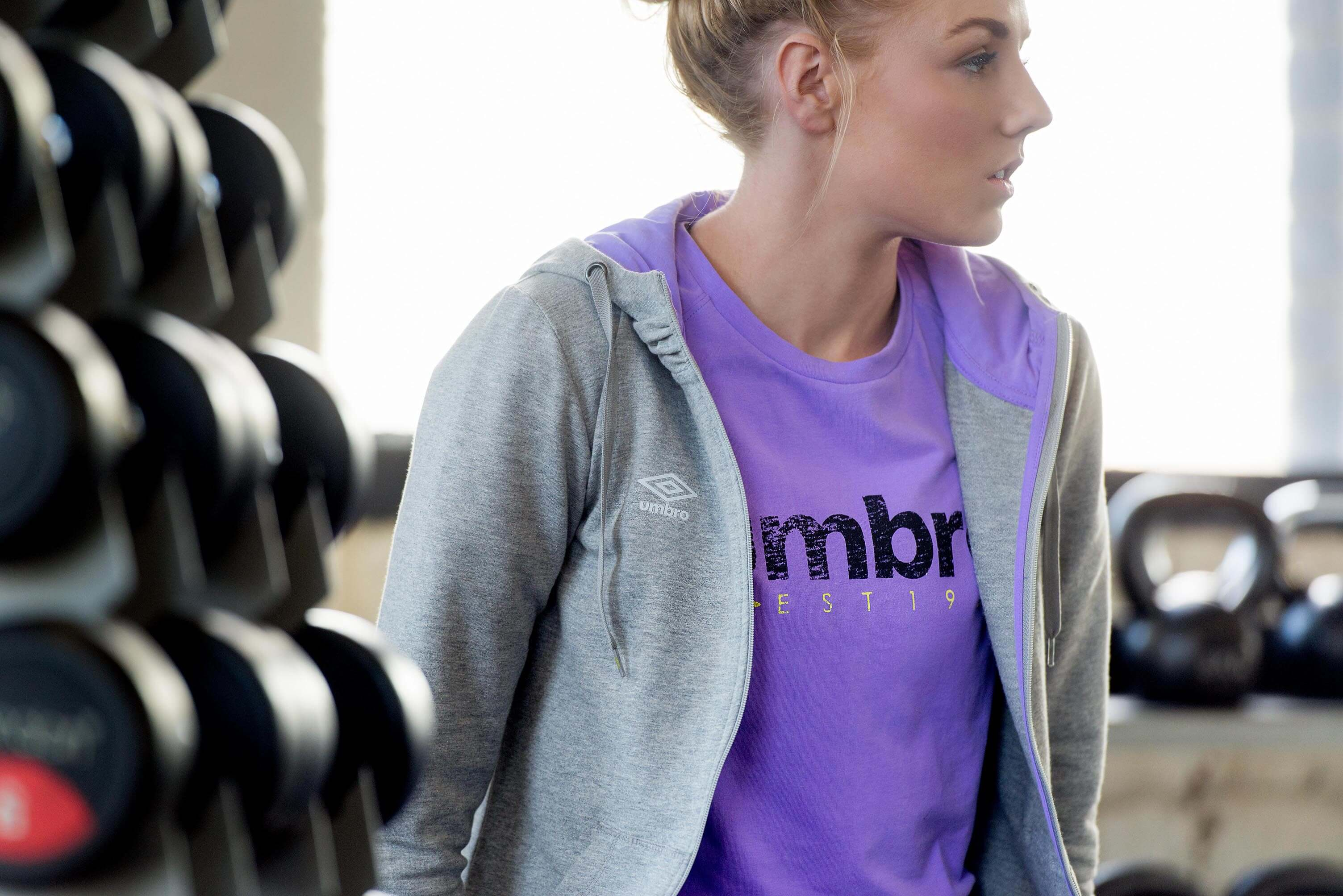 Alex Greenwood: AW15 Umbro womenwear
