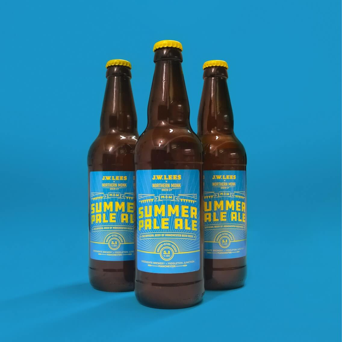 JW Lees X Northern Monk Summer Pale Ale