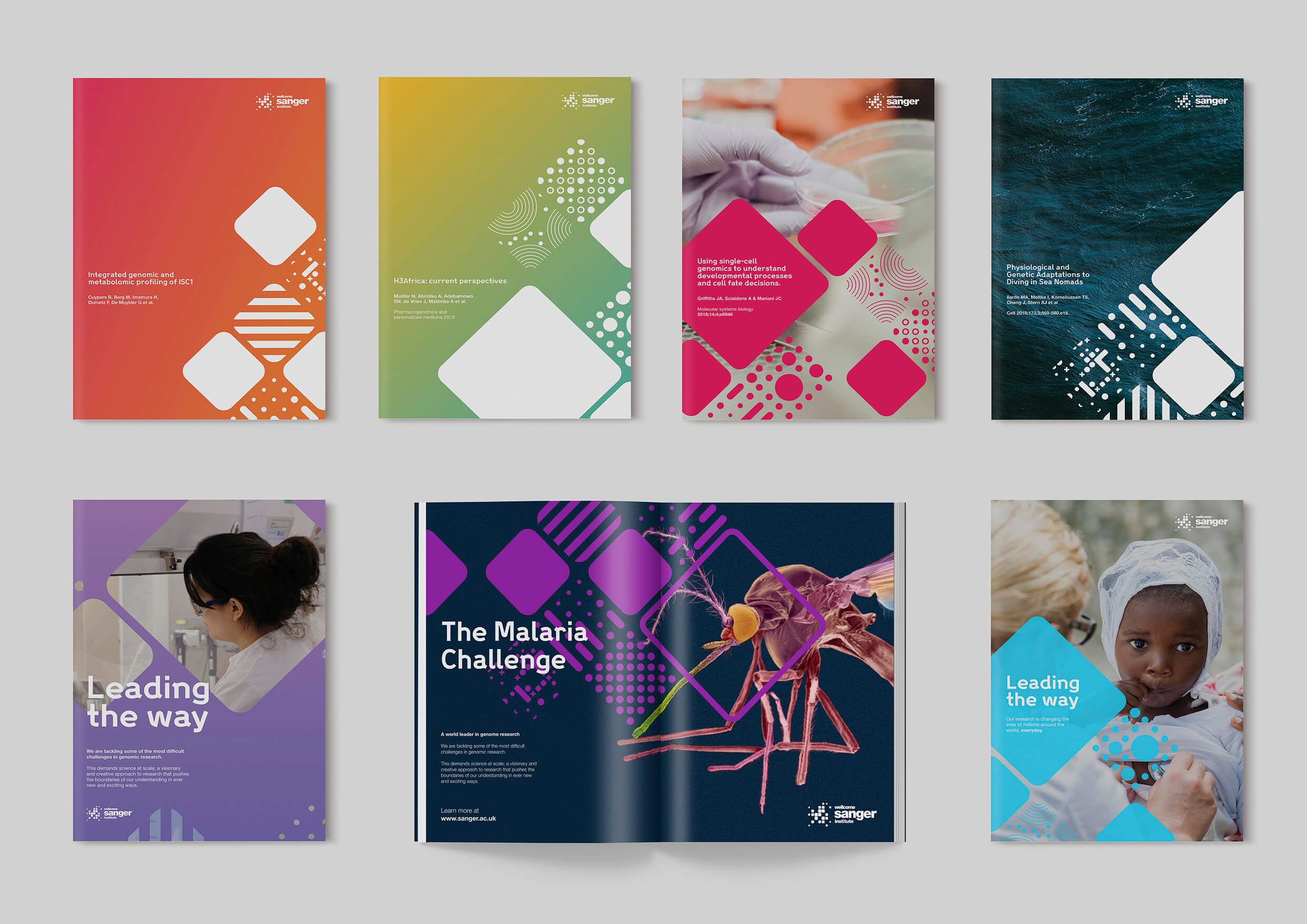 The Wellcome Sanger Institute Brand Refresh